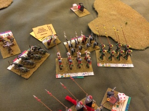 Despite Greater Casualties, the Elves push forward on the Right Flank