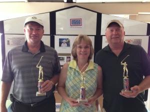 USAF WINNERS - Jim, Lisa, & Mike Kularski