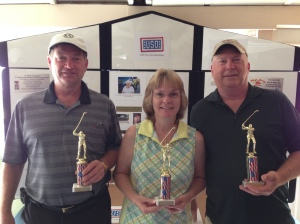 USAF WINNERS - Jim, Lisa, & Mike Kularski