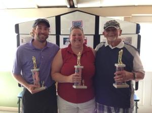 Top Individuals - Nick Guerin (Best Man), Stacie Chandler (Best Woman), Bob Tilton (Best Senior)