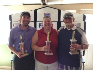 Top Individuals - Nick Guerin (Best Man), Stacie Chandler (Best Woman), Bob Tilton (Best Senior)