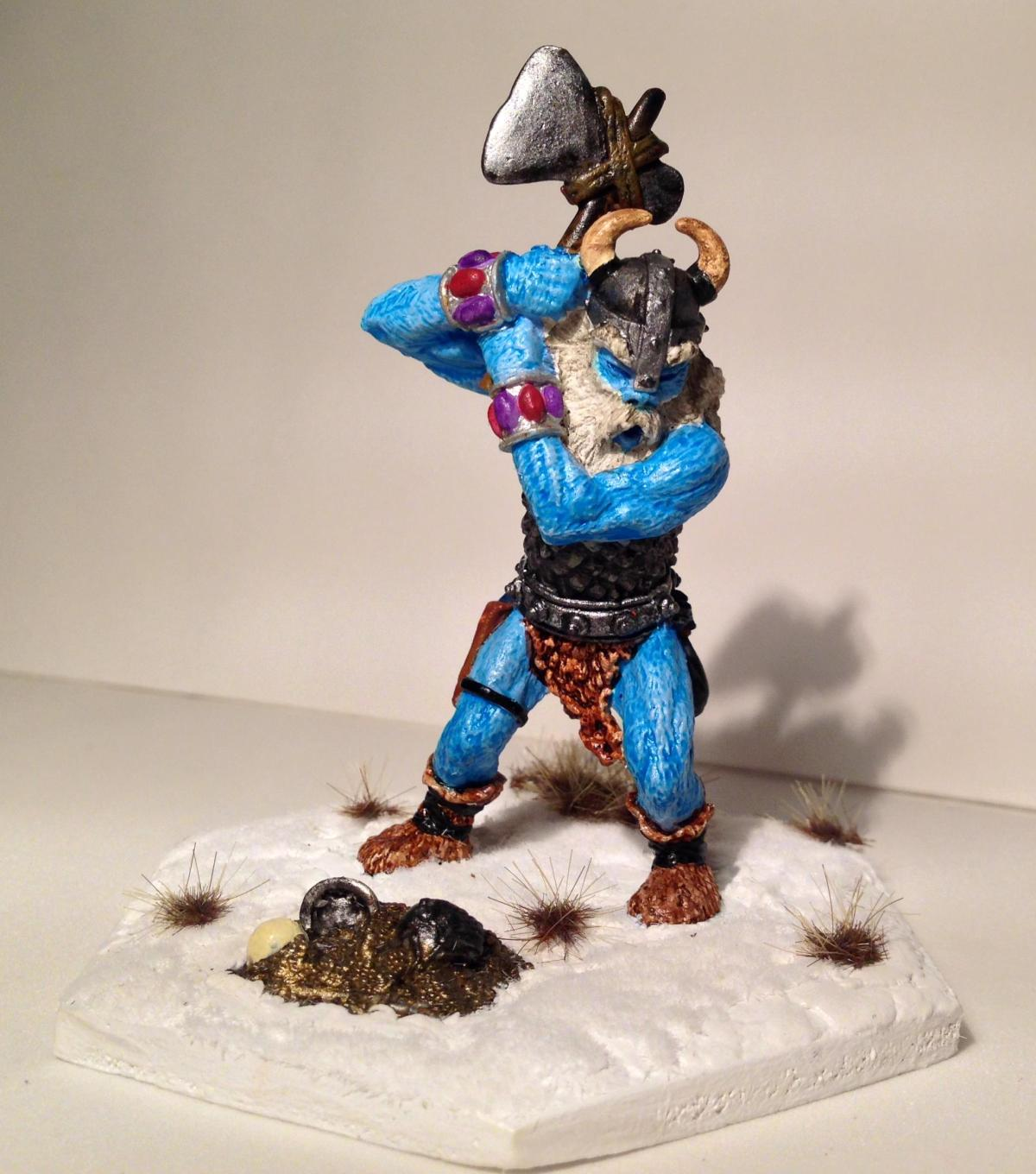 Rehabilitating a 1983 Grenadier Frost Giant (Fantasy Lords – First Series 103)