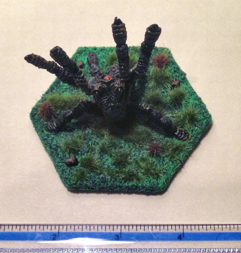 18 TSR Giant Ral Partha Spider (Steeder) 11-515 from top complete
