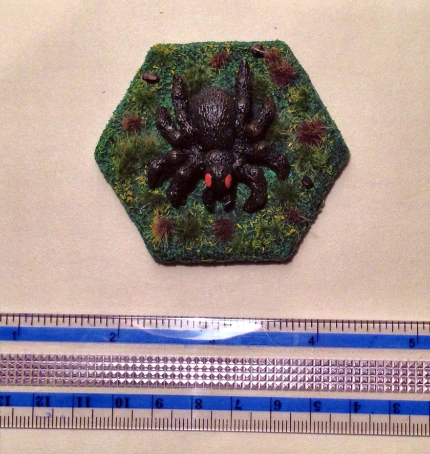 21 Grenadier 5004 Tomb of Spells Huge Spider top view complete
