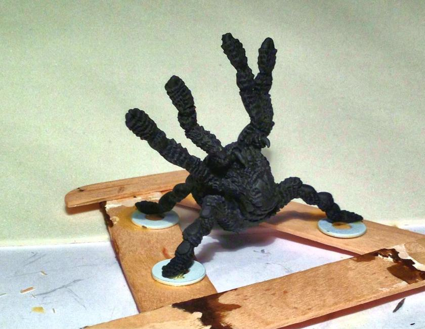 9 TSR Giant Ral Partha Spider (Steeder) 11-515 after base coat