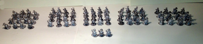 13 assembly of the new Regiment of Roomans front