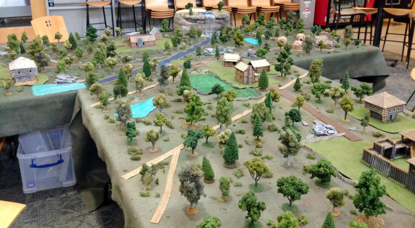 2 04302016 HARCON Muskets & Tomahawks battlefield