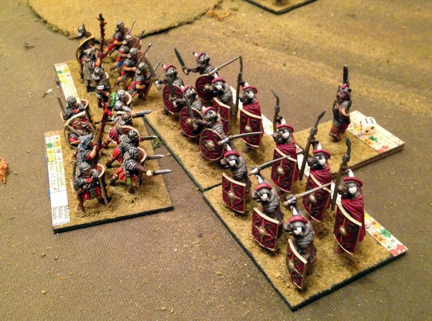 3 04282016 BYV Roman Legion vs Minotaurs
