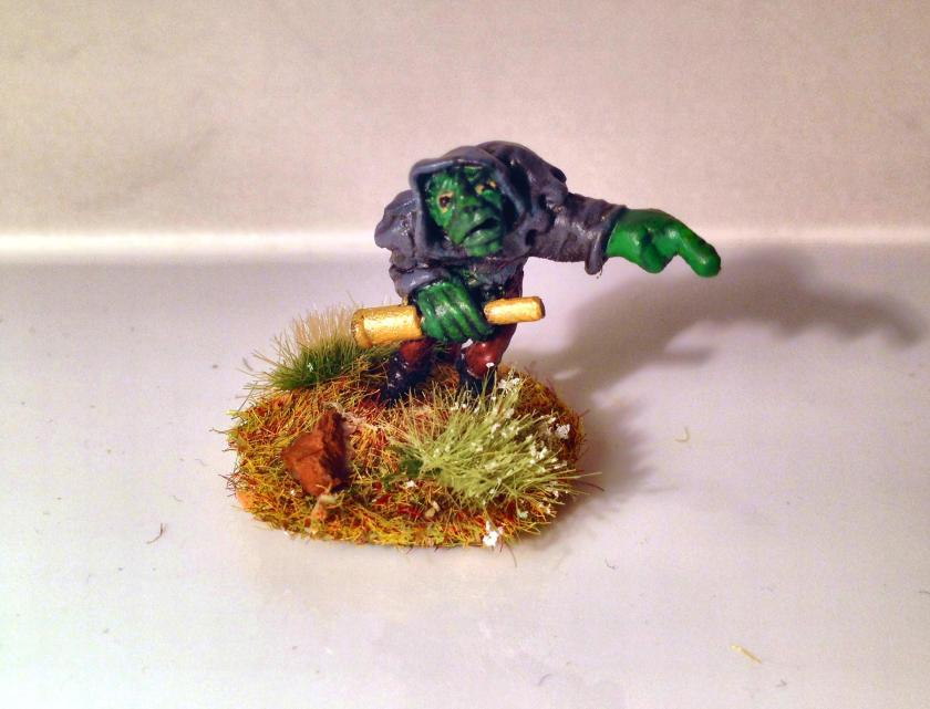 33 Small Gunner Troll  crew Ballista front