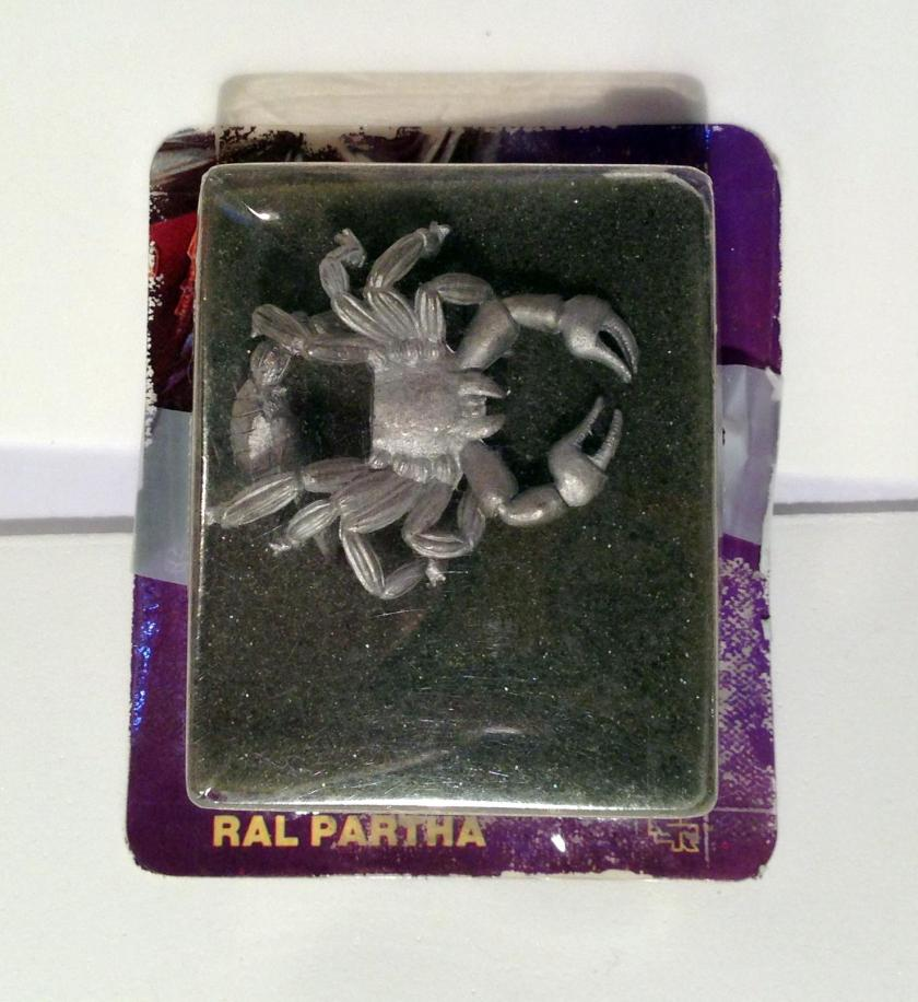 1 Ral Partha 11-452 Giant Scorpion ADD Monsters in package