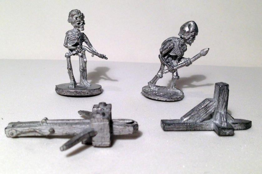 1 skeleton bolt thrower before cleaning