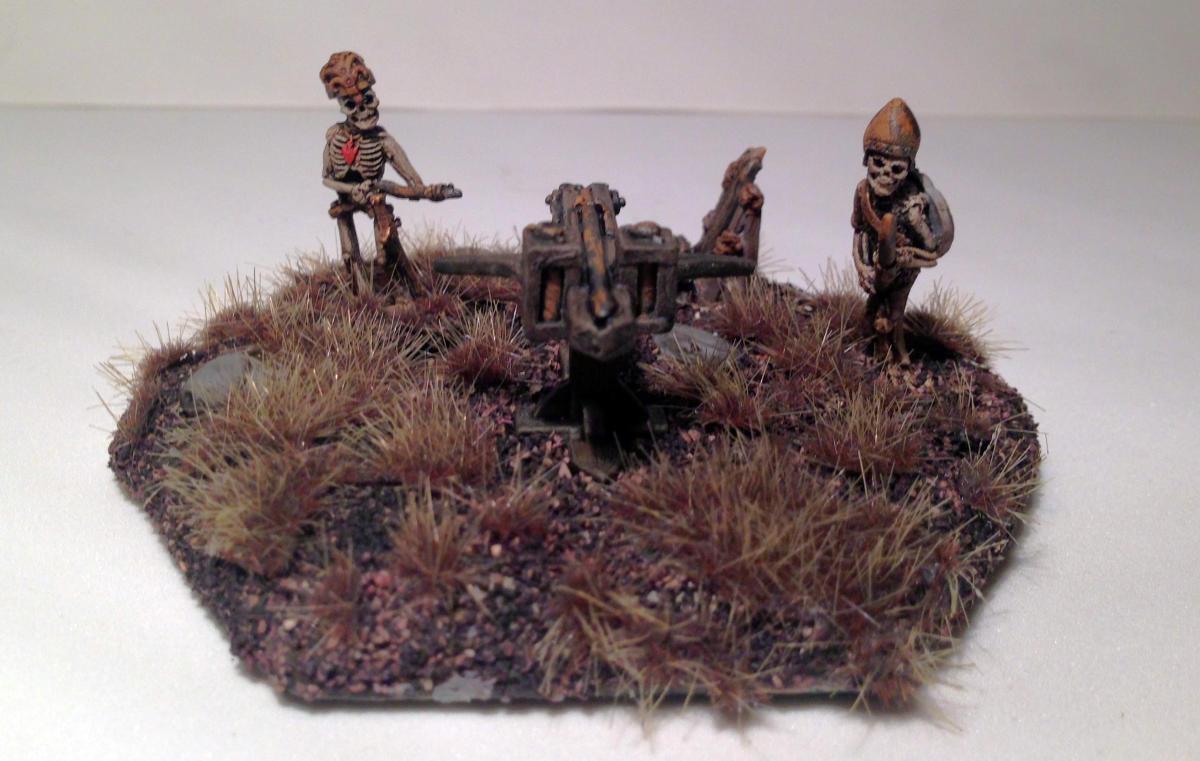 Grenadier Models Dart Thrower and Undead Crew (130), circa1984