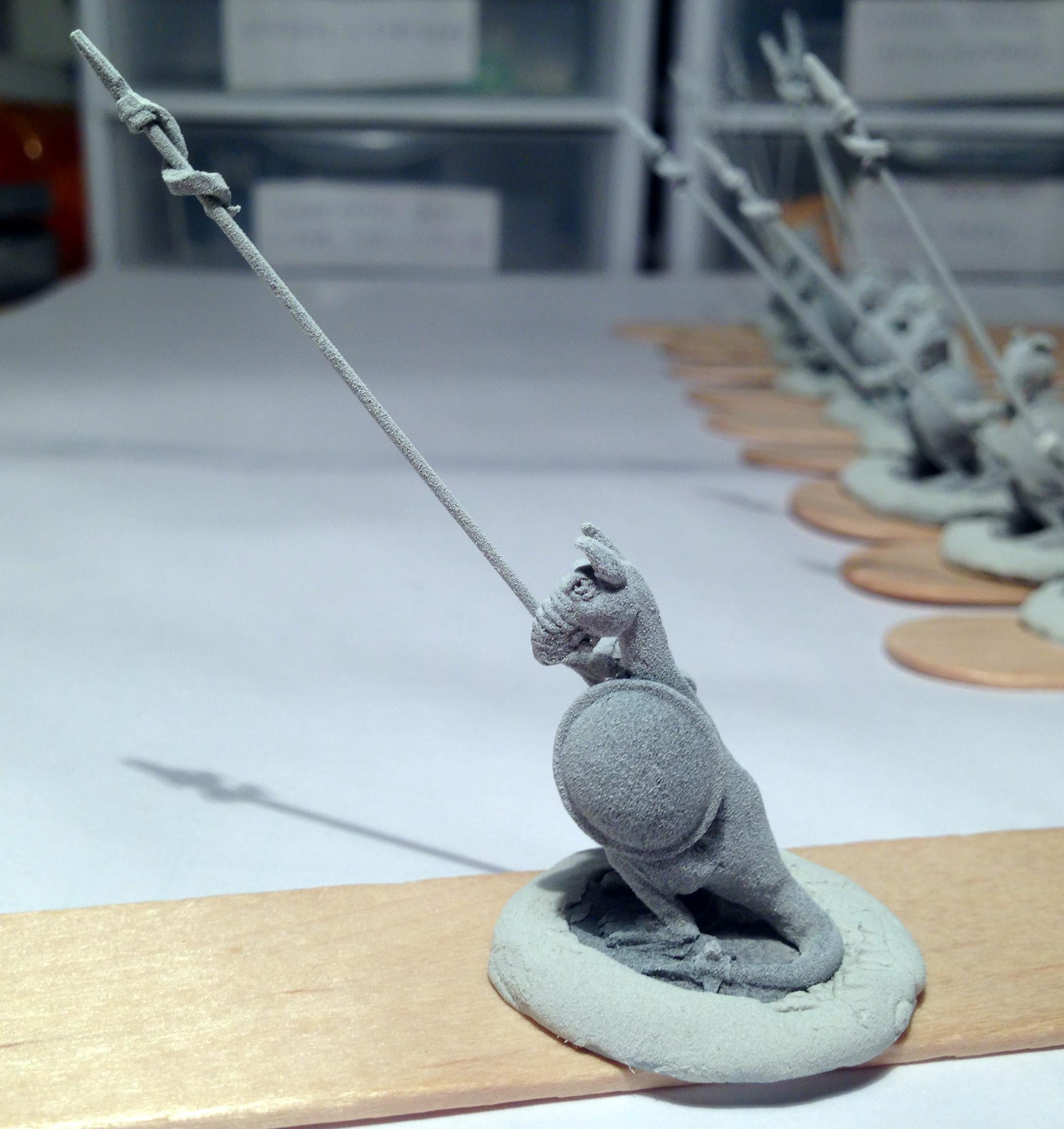 8 Rooman trooper newer pike side view shield side