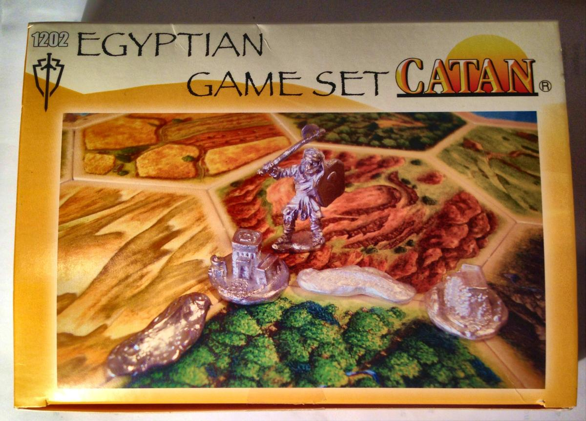 Egyptian Game Set for Settlers of Catan