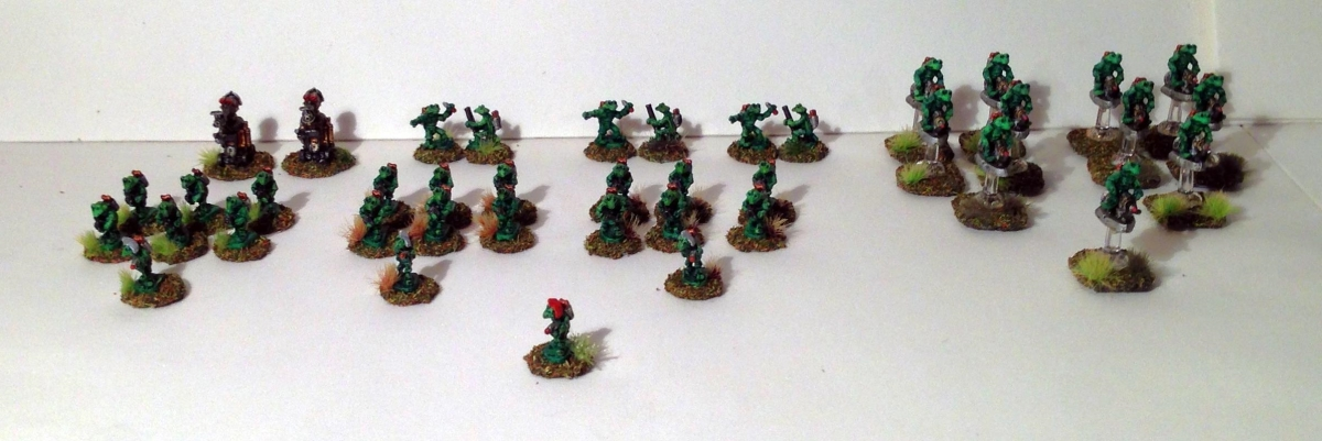Star Rovers Aphid Platoon for Combat Patrol (TM)!