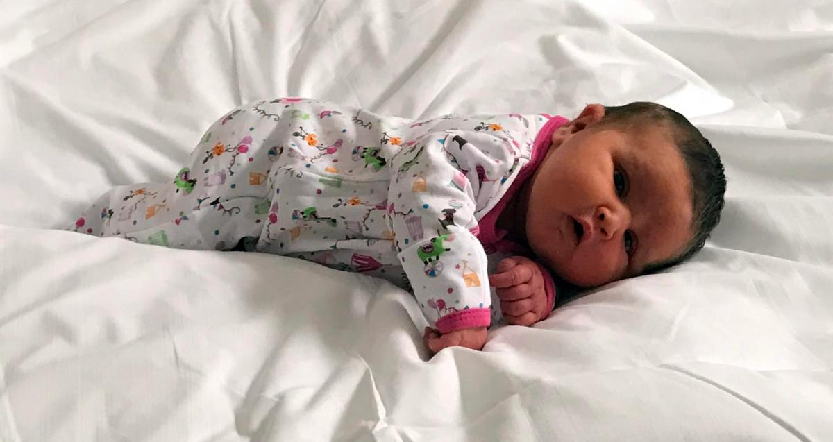 Welcome Tabitha Lynn Smedile, our first granddaughter!