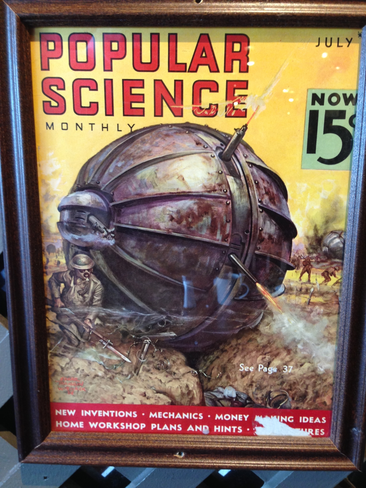 Retro Sci-Fi Sphere Tanks – from a Callaway Golf Ball!