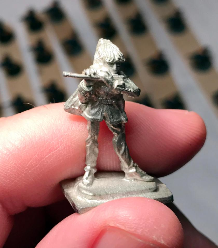 1 Bard unpainted, front