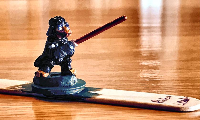 11 Duck Vader base coated