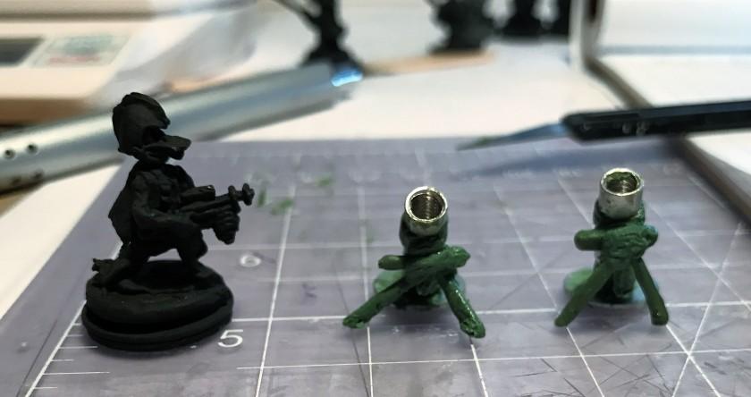 5 mortars start front