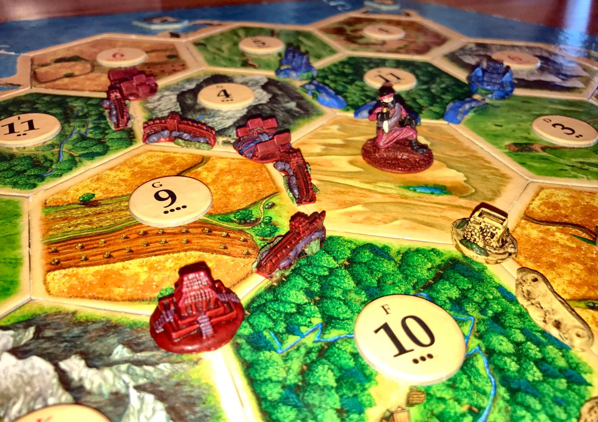 Chinese Game Set for Settlers of Catan