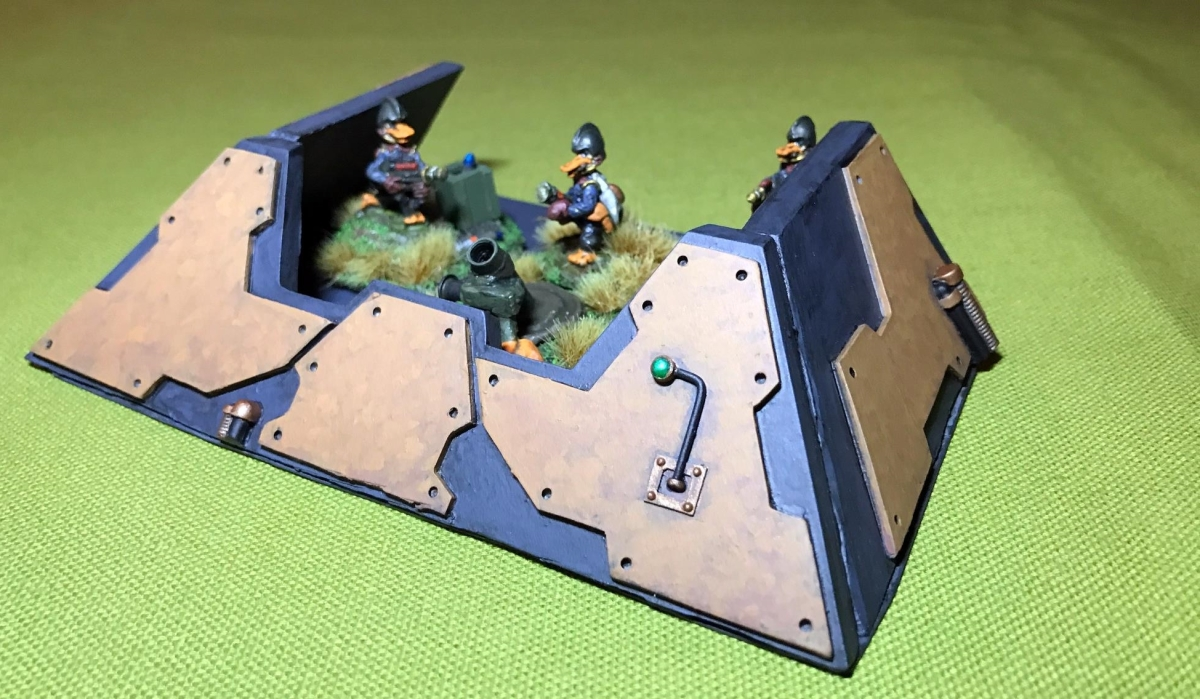 Slag Mounds, Bunkers, Barriers and more!