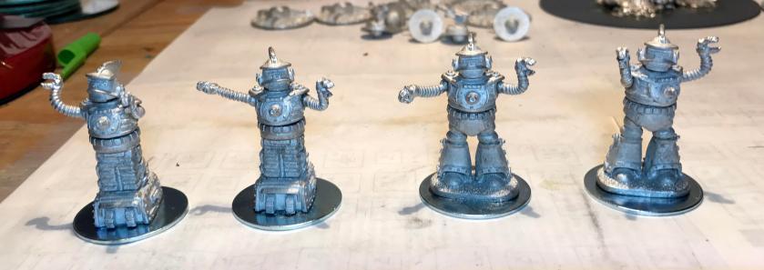 3 assembled Khang robots