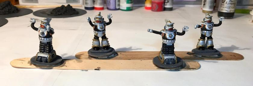 5 mid stage base coat on Khang robots