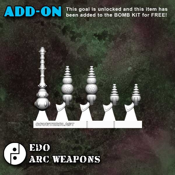 0000 Arc Weapon sprue 36013