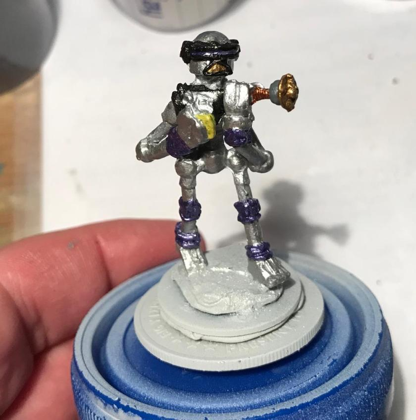 12 Purple cast Mark III base coated mid stage