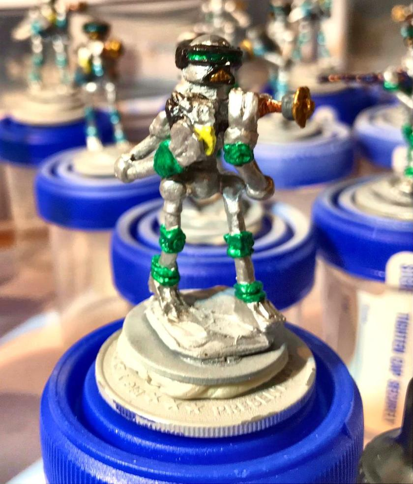 14 Green cast Mark III base coated mid stage