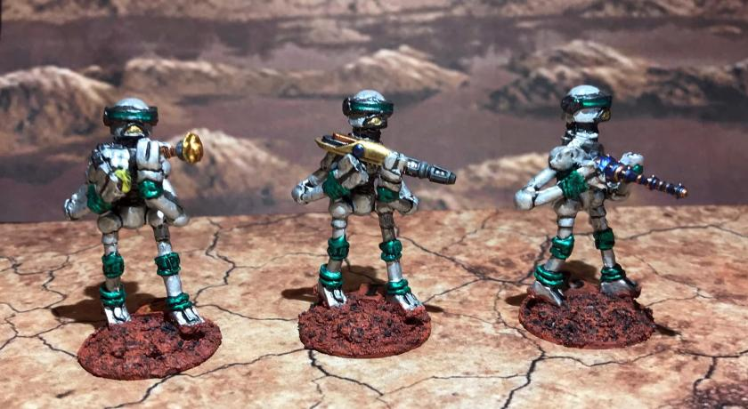 27 Green Mark III Warbots with conversions