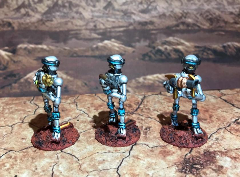 31 Blue Mark III Warbots with conversions