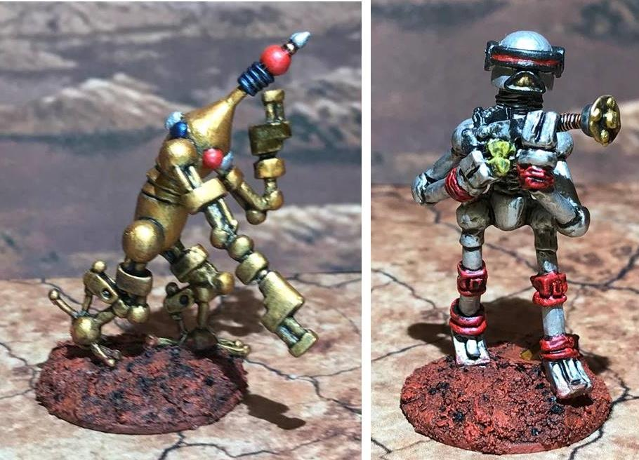 Mark III Warbot Platoon & Juggerbot for Combat Patrol