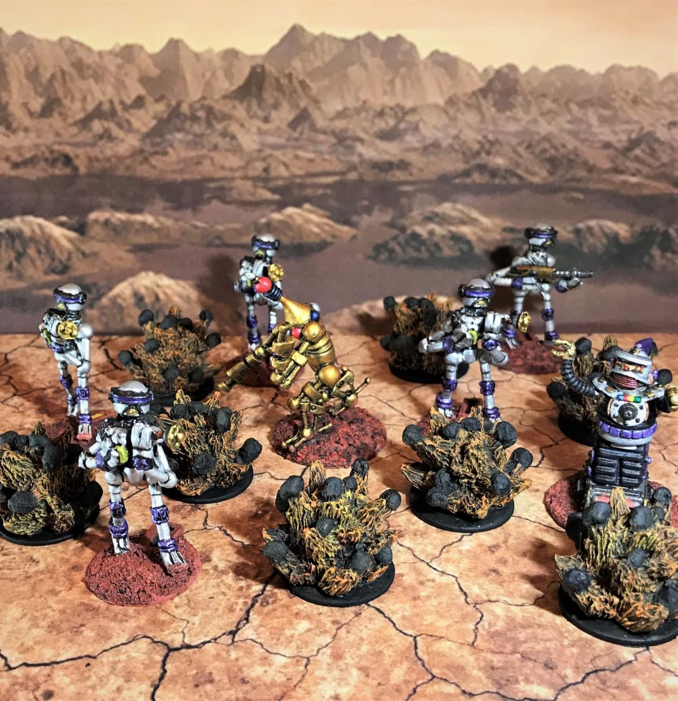 Armorcast Grenade Blasts for CombatPatrol