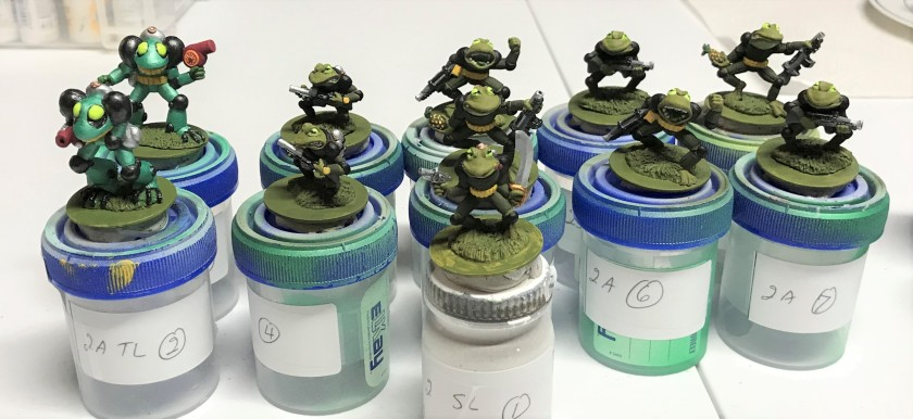 14 2nd squad painted
