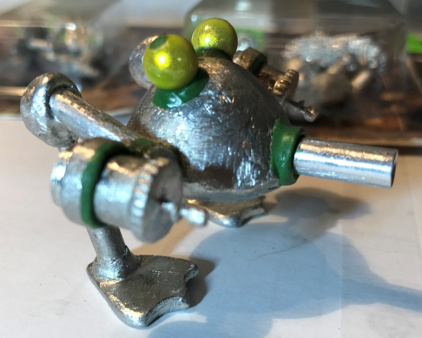 8 resurrected Frogbot after green stuff
