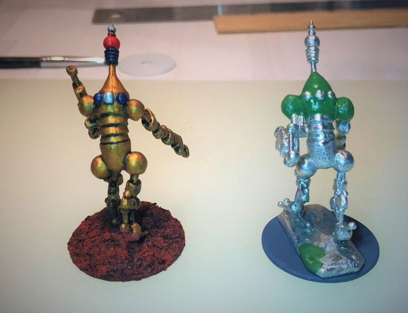 1 Assembled and comparison with original