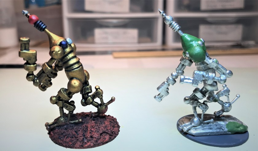 2 Assembled and comparison with original