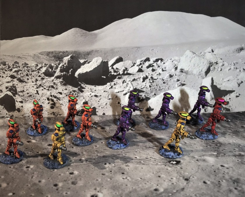 13 Advancing Robots Mega Minis DEAL 0372 in progress complete squad better