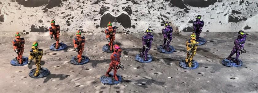 22 Assembled Squad