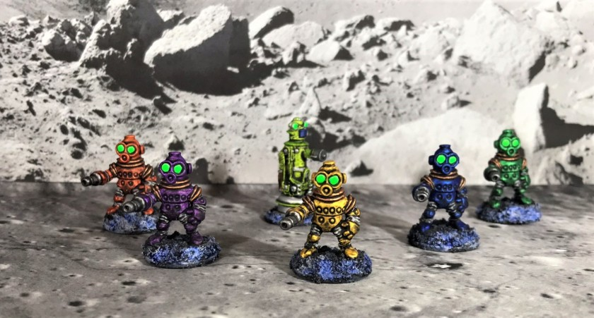 17 Team A of Space Dwarf Assault Squad