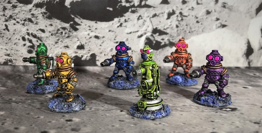 18 Team B of Space Dwarf Assault Squad