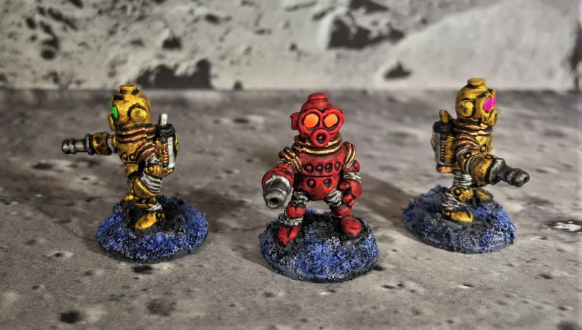 19 Space Dwarf Assault Squad Leadership