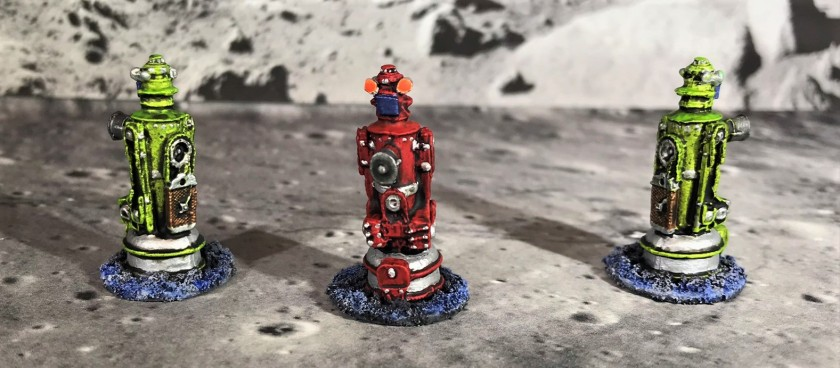 20 Space Dwarf Assault Squad Agribots