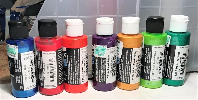 9 paints