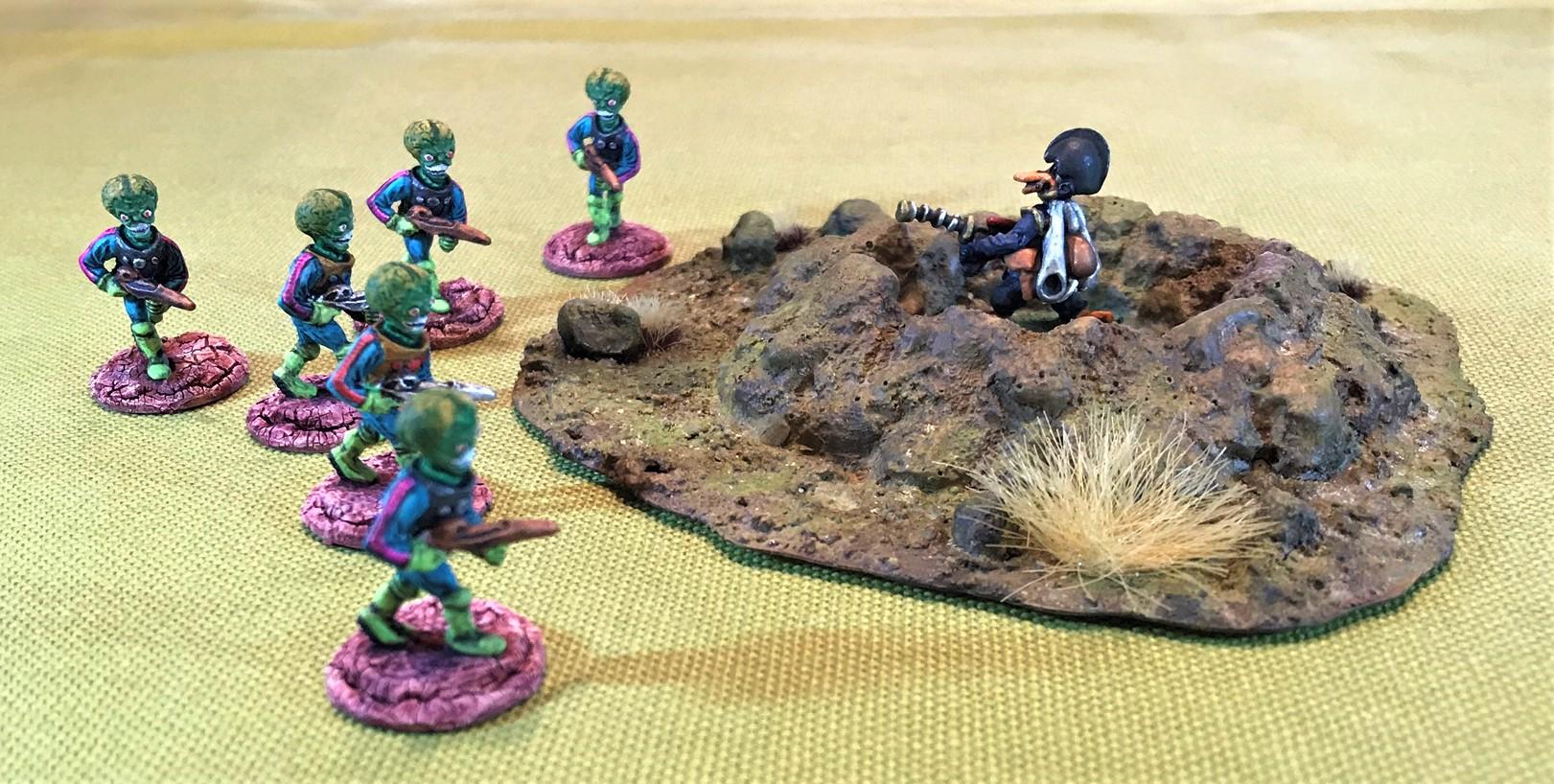 15 Martians vs SFC Mallard