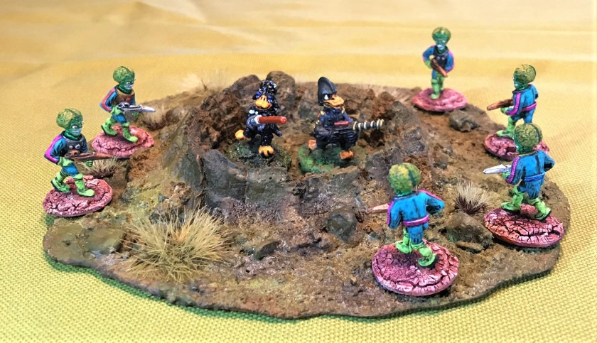 16 Martians vs SFC Mallard & Duck Wader