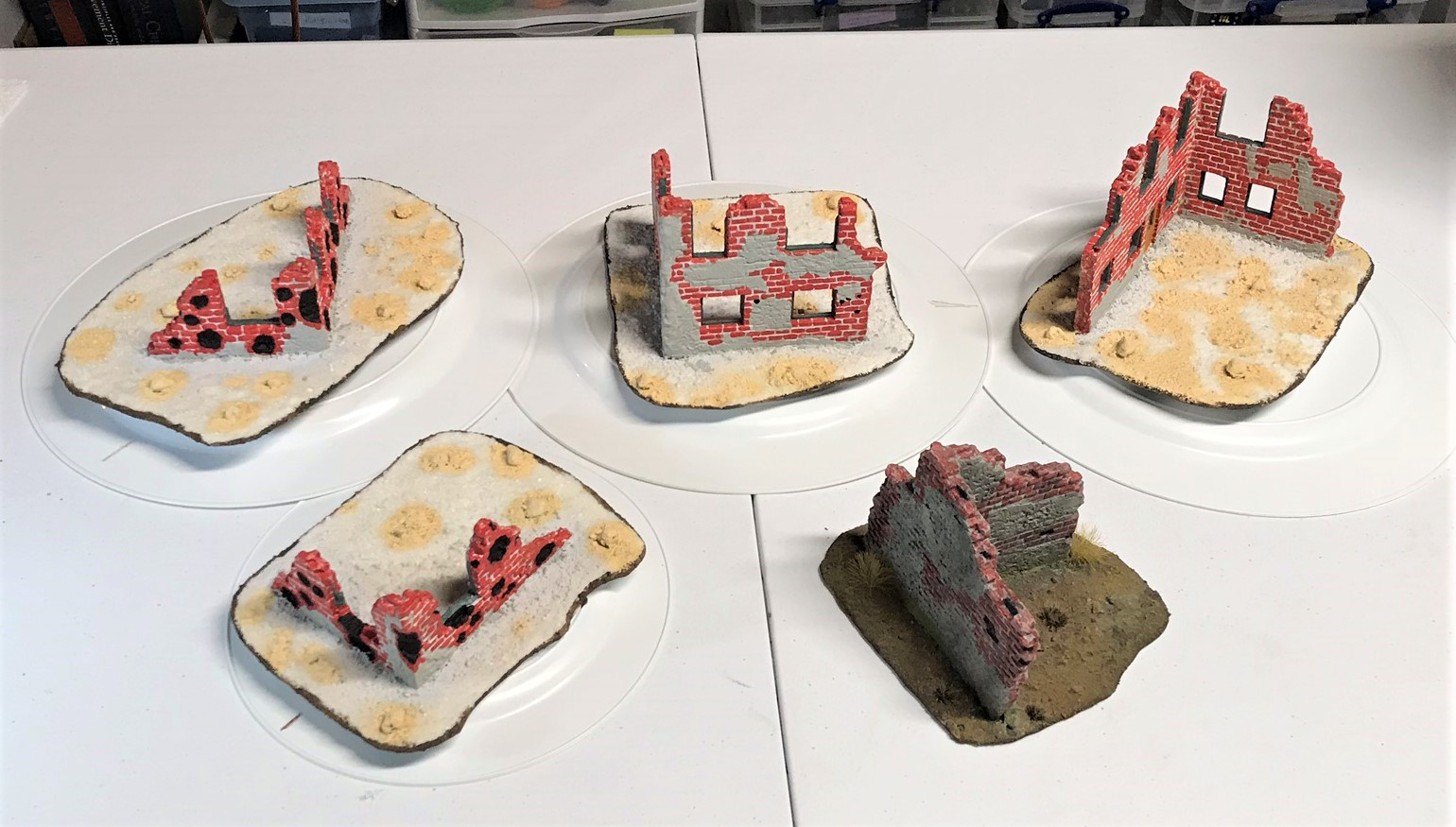 12 all buildings base coated with t section