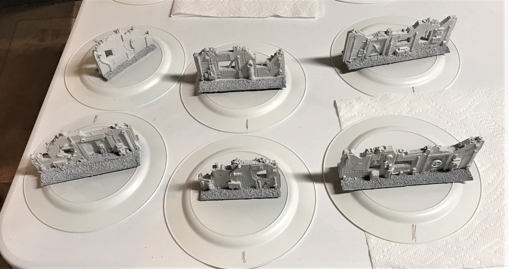 4 on plates and primed